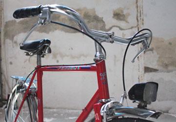 Bicyclette monovitesse, roue 650B, cadre 57 centimètres. Atelier bicyclette Rennes