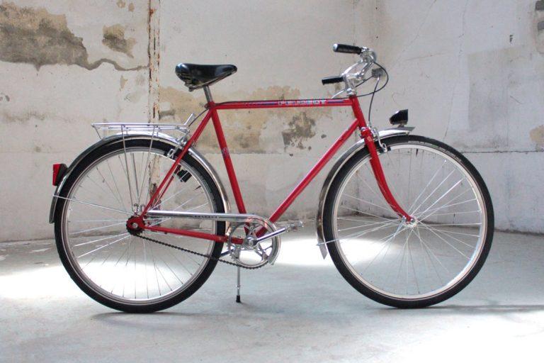 Bicyclette monovitesse, roue 650B, cadre 57 centimètres - Atelier bicyclette Rennes