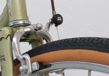 Vélo restauré dans notre atelier de Rennes.