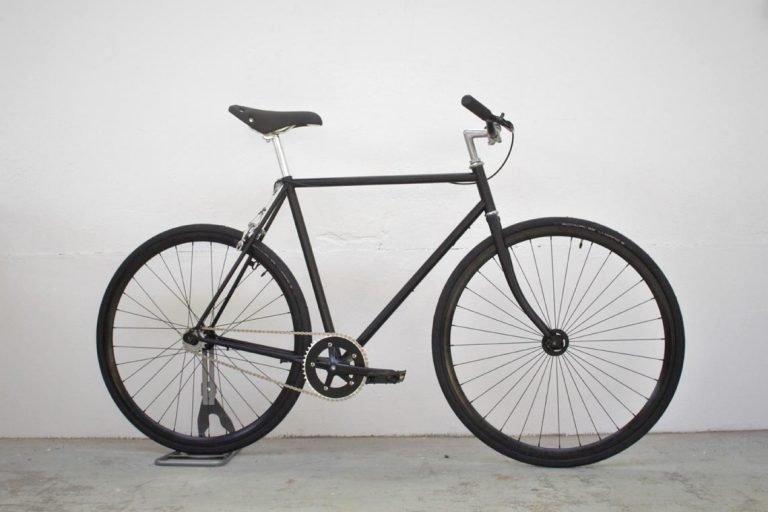 Bicyclette pour homme restauré dans notre atelier de Rennes