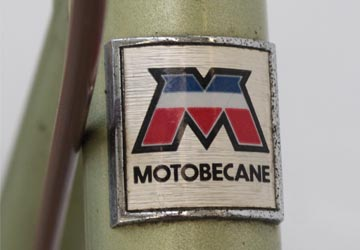 Vélo verte Motobécane de 1980