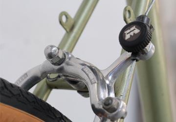 Vélo Motobécane vert de 1980