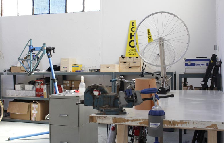 Atelier de restauration, réparation et entretien de vélos à Rennes